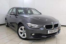 2012 12 BMW 3 SERIES 2.0 320D EFFICIENTDYNAMICS 4DR 161 BHP DIESEL