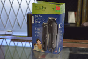 **NEW** Andis EasyClip Medium-Duty Clipper/Trimmer Combo