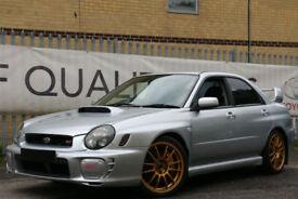 SUBARU IMPREZA WRX STI UK CAR SERVICE HISTORY , FACTORY FORGED ENGINE BARGAIN!!