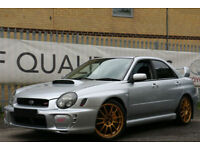 SUBARU IMPREZA WRX STI UK CAR SERVICE HISTORY , FACTORY FORGED ENGINE BARGAIN!!