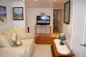 Beautiful fully furnished 1 bedroom apt for rent in Hull/Gatinea