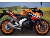 Honda CBR125R **Repsol Replica, HPI Clear, Learner Legal**