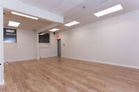 Large Studio Spaces Available for Hourly Rental for Classes