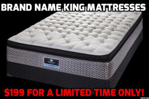KING SIZE MATTRESSES STARTING AT $199 WITH SAME DAY PICK UP