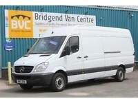 2013 MERCEDES SPRINTER 313 2.1 CDI 136 BHP LWB DIESEL 6 SPEED MANUAL VAN, 1 OWNE