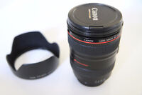 Canon 24-105mm EF f4L IS lens - Like New