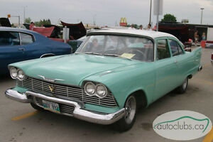 1958 Plymouth Plaza 2dr Sedan, Rare, V8, Auto