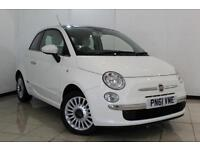 2012 61 FIAT 500 1.2 LOUNGE 3DR 69 BHP