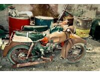 Wanted all motorcycles any condition left for years rusting away nonnrunners