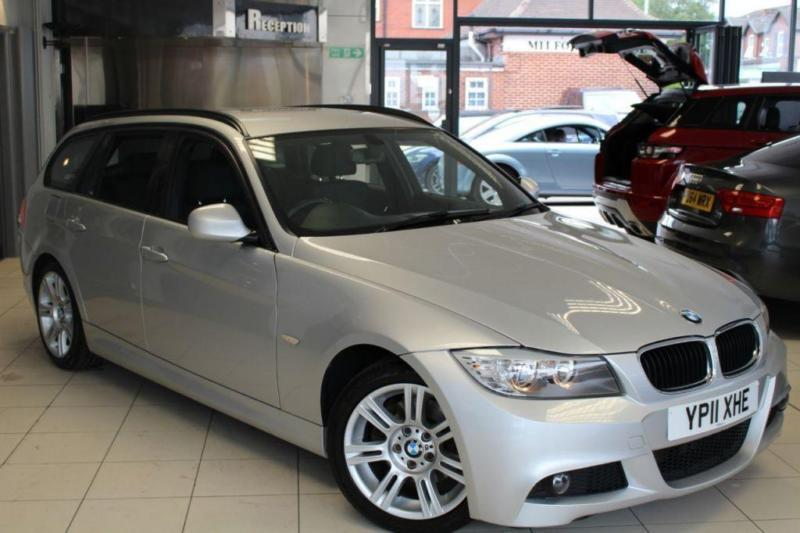 2011 11 BMW 3 SERIES 2.0 320D M SPORT TOURING 5D 181 BHP DIESEL