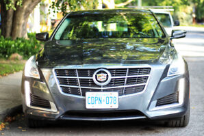 2014 Cadillac CTS 2.0L Turbo 4 Cyl AWD in mint condition!