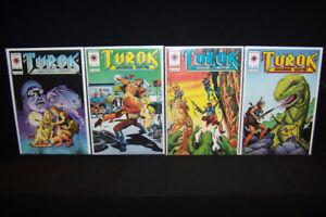 1993 Valiant Turok the Dinosaur Hunter Comic Lot High Grade