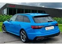 2020 Audi A4 Avant Black Edition 35 TDI 163 PS S tronic Semi Auto Estate Diesel