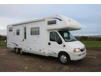 Burstner Argos A747-2 G 6 Berth Tag Axle Motorhome Garage MANUAL 2005/05