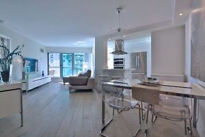 SPACIOUS MODERN (1+1)2 FURNISHED LUXURY LAKEVIEW DOWNTOWN CONDO