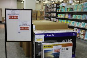 télévision sharp 60 po 4k smart  lc-60r6003u