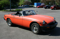 1979 MGB Flame Orange