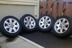 BMW E46 style 45 Mags with summer tires 205/55R16