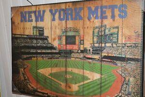 N.Y.Mets Baseball collectable print.