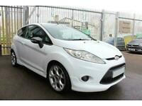 2012 WHITE FORD FIESTA 1.6 ZETEC S 120 PETROL 3DR HATCH CAR FINANCE FR £96 PCM