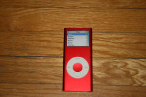4gb red iPod nano
