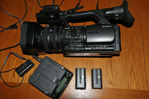 Sony HVR-Z5U Professional Camcorder and Accessories