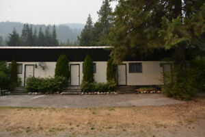 Salmo bachelor suite for rent