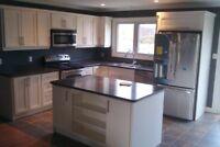 Custom Painted White Kitchen $4995