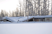 Roof top snow and ice removal starting at $150