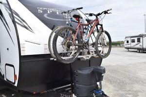 Tongue Mount Bike Rack (Futura GP)  for 2 bikes only