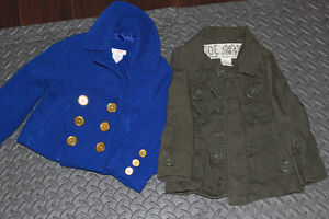 Two 2T Toddler Girl Jackets