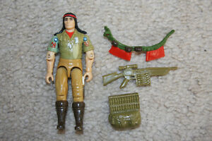 G.I.Joe - Spirit figure [1984] (some weapons and no file card)