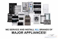 APPLIANCE REPAIRS, INSTALLATIONS & REMOVALS!