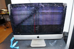 "2014 iMac 21.5"" Computer Works Great But Needs New Screen"