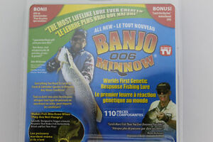 Banjo 006 Minnow 110 Pcs Fishing Lures with DVD As Seen On TV Kitchener / Waterloo Kitchener Area image 3