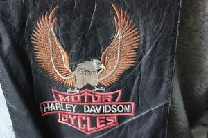 1970's HARLEY DAVIDSON Leather Vest
