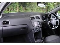 2015 Volkswagen Polo SE 1.0 60PS 5-speed Manual 3 Door Petrol white Manual