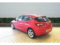 2019 Vauxhall Astra 1.4T 16V 150 SRi 5dr Hatchback Manual Hatchback Petrol Manua