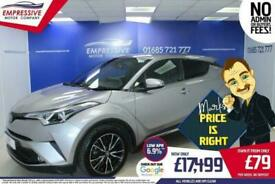 image for 2018 18 TOYOTA CHR 1.8 EXCEL 5D 122 BHP