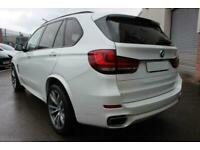 2015 WHITE BMW X5 3.0 XDRIVE30D M SPORT DIESEL AUTO 4X4 CAR FINANCE FR £402 PCM