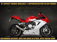 2012 12 MV AGUSTA F3 675 0% DEPOSIT FINANCE AVAILABLE