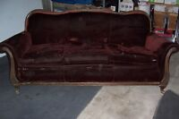 Reupholster Antique Sofa and Chair