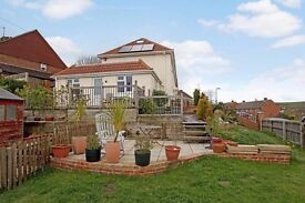 One Bedroom Garden Apartment with Private Outside Decked Area