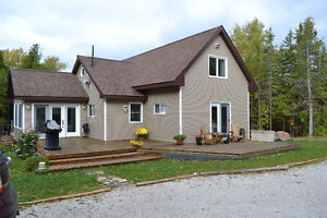 Beautiful, West Facing Waterfront Manitoulin Home For Sale