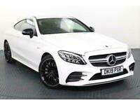 2019 Mercedes-Benz C Class 3.0 C43 V6 AMG Coupe 2dr Petrol G-Tronic+ 4MATIC (s/s