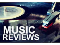 Music critic: album reviewer, live concerts, writer
