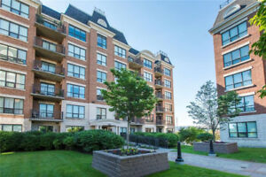Luxurious top floor two bedroom condo