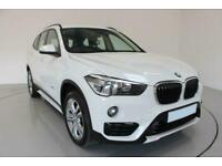 2016 WHITE BMW X1 2.0 XDRIVE20i SPORT PETROL AUTO CAR FINANCE FR £273 PCM