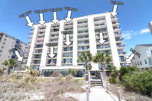 North Myrtle Beach South Carolina Ocean Front Winter Rental