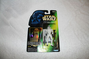 Star Wars : Power of the Force Action Figures Green (8)